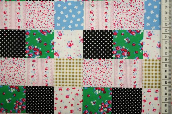 Bawełna drukowana - patchwork