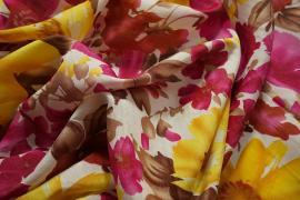 Sztuczny jedwab - kwiaty