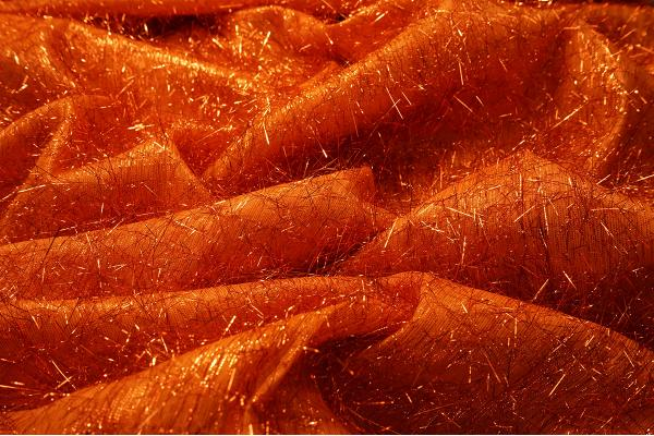 Organtyna fantazja - kolor pomarańczowy