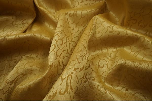 Żakard - kolor złoty