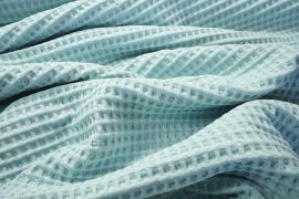 """Bawełna wafel w kolorze """"Ice blue"""""""