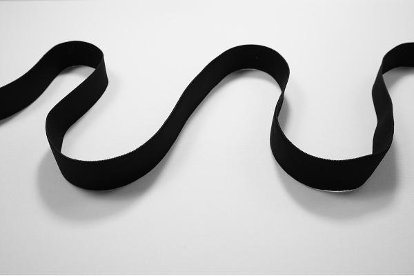 Guma czarna, 2.5 cm
