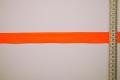 Lamówka w kolorze intensywnie pomarańczowym, 2.5 cm