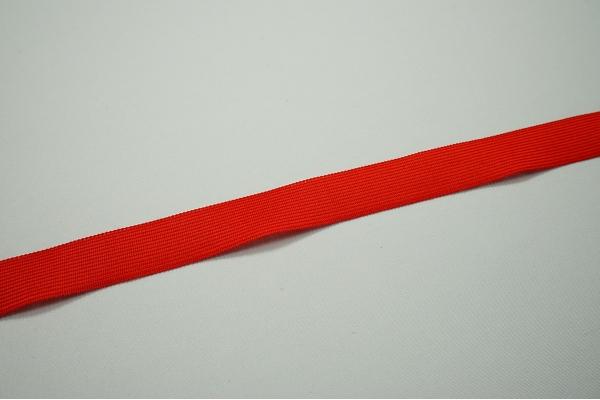 Lamówka w kolorze czerwonym, 2.5 cm