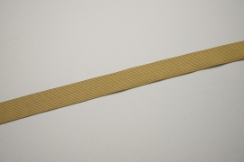 Lamówka w kolorze cappuccino, 2.5 cm