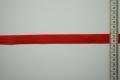 Lamówka w kolorze czerwonym, 2 cm