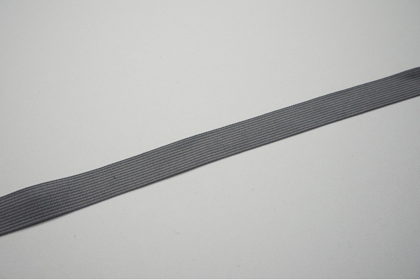 Lamówka w kolorze szarym, 2 cm