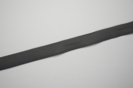 Lamówka w kolorze grafitowym, 2,5 cm