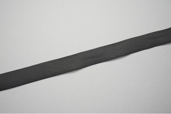 Lamówka w kolorze grafitowym, 2 cm