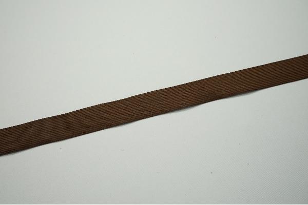 Lamówka w kolorze brązowym, 2.5 cm