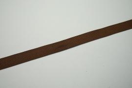 Lamówka w kolorze brązowym, 2 cm
