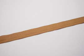 Lamówka w kolorze beżowym, 2.5 cm