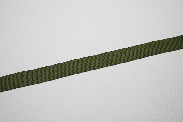 Lamówka w kolorze khaki, 2.5 cm
