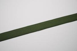 Lamówka w kolorze khaki, 3 cm