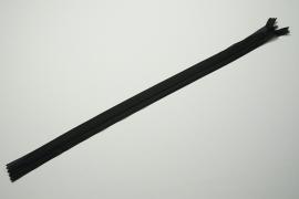 Zamek kryty - czarny, 45 cm
