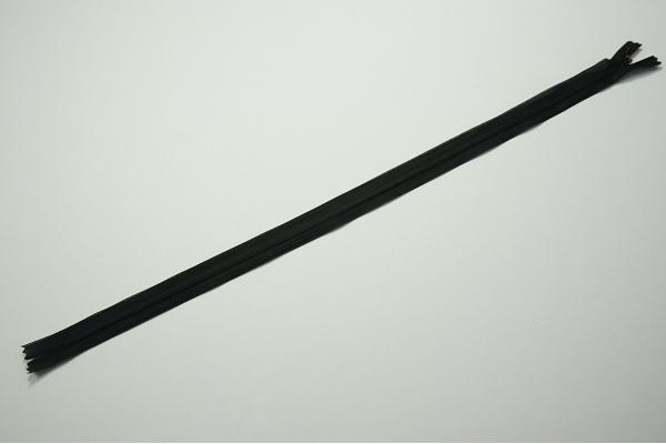 Zamek kryty - czarny, 50 cm