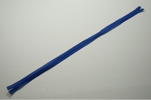 Zamek kryty - niebieski, 60 cm