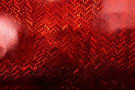 Folia hologramowa w kolorze czerwonym