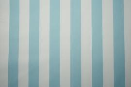 Tkanina ogrodowa wodoodporna w błękitne paski