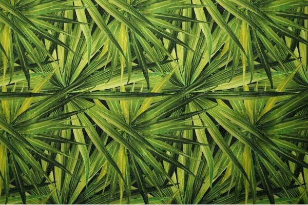 Tkanina ogrodowa w zielone liście