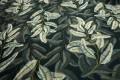 Filc drukowany - szare liście