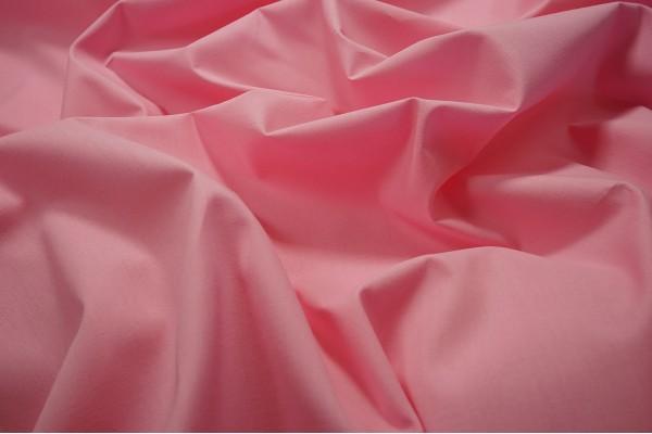 Tkanina bawełniana w kolorze różowym