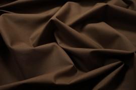 Tkanina bawełniana w kolorze brązowym