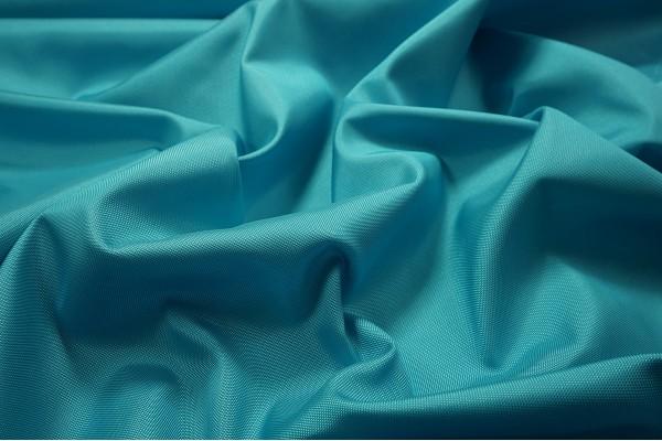 Tkanina ogrodowa w kolorze jasnoturkusowym - fale