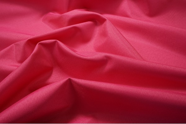 Tkanina ogrodowa - kolor różowy - fale