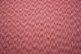 Bawełna - różowe i białe zygzaki