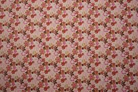 Bawełna - wielokolorowe kwiatki