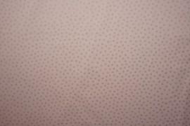 Bawełna - brokatowe kwiatki