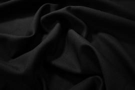Tkanina poliestrowa - kolor czarny