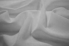 Tkanina obrusowa plamoodporna w kolorze białym