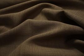 Tkanina obrusowa plamoodporna w kolorze brązowym