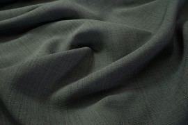 Tkanina obrusowa plamoodporna w kolorze szarym