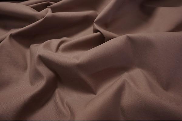Bawełna z lycrą w kolorze kakaowym