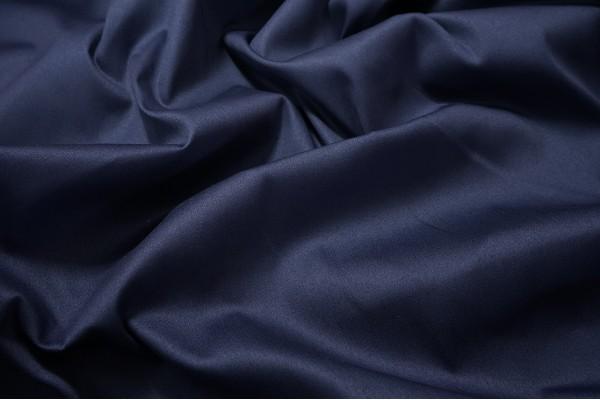 Bawełna z lycrą w kolorze granatowym
