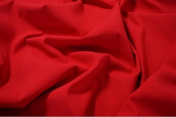 Bawełna z lycrą w kolorze czerwonym