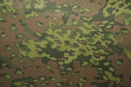 Tkanina kamuflażowa wodoodporna - zieleń