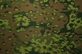 Tkanina ogrodowa wodoodporna - kamuflaż zielony