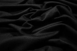 Tkanina wełniana - czarna
