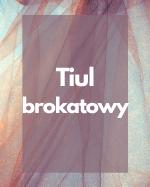 Tiul brokatowy