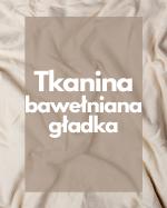 Tkanina bawełniana gładka