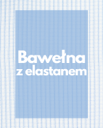 Bawełna z elastanem - drukowana